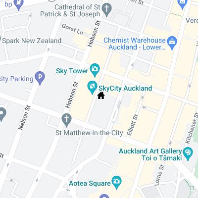 Accommodation map
