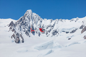 Glacier Helicopter tours, New Zealand