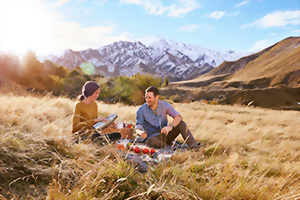 Romantic getaways in New Zealand