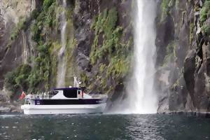 Visit the Milford Sound and take a nature cruise
