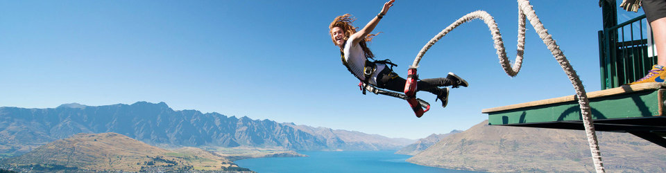 Queenstown Bungy Jumping, New Zealand