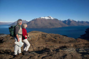 Queenstown Hill, Lake Wakatipu, South Island hikes