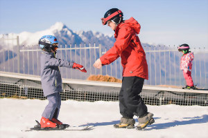 New Zealand kids ski lessons and childcare