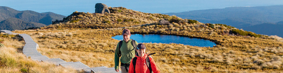 Walking in New Zealand's national parks