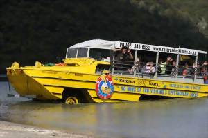 Rotorua Duck Tours, New Zealand