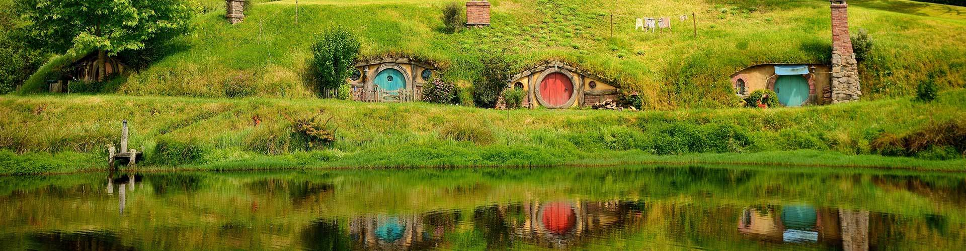 Lord of the Rings and the Hobbit in New Zealand