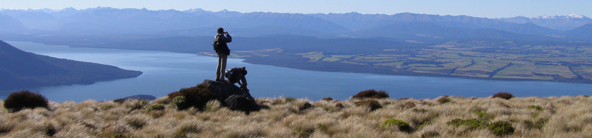 Hiking, walking and cycling in New Zealand