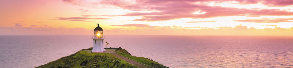 Sunset over Cape Reinga