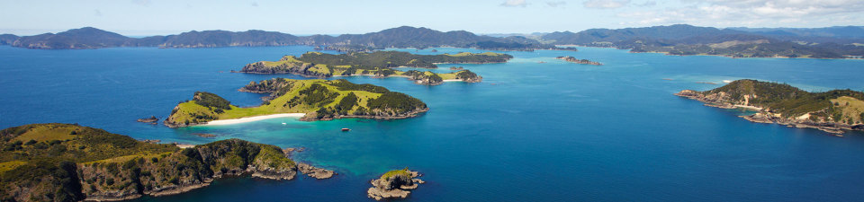 Sunny day Bay of Islands