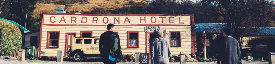 Cardrona Hotel, New Zealand Itineraries