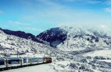 Tranz Alpine Scenic train