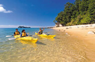 Kayak Abel Tasman and Pitt Head Nature Loop