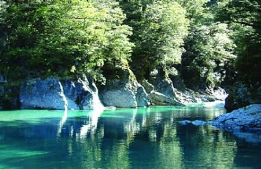 Blue Pools Nature Experience with Southern Alps Air