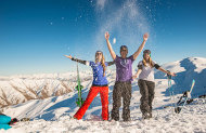 Cardrona Full Lift Pass, 1 Group Lesson and Rental Package