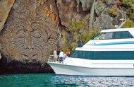 Lake Taupo Scenic Cruise to the Maori Rock Carvings