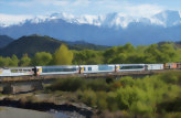 Coastal Pacific Train: Christchurch to Picton