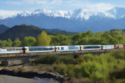 Coastal Pacific Train: Kaikoura to Picton