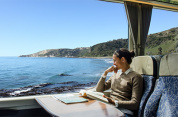 Coastal Pacific Train: Kaikoura to Christchurch