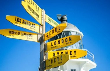 Travel guide and in-country support