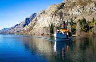 TSS Earnslaw cruise and Walter Peak Farm tour including gourmet BBQ lunch