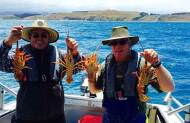Kaikoura Crayfish and Fishing Charter with Fish Kaikoura