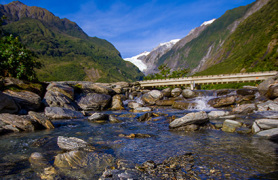 4 day Glaciers, Queenstown and Milford Sound highlights - Day 1