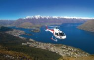 Lord of the Rings and Glacier Explorer Flight with Glacier Southern Lakes Helicopters