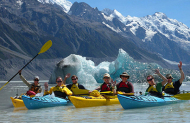 Glacier Lake Sea-Kayaking
