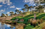 Hobbiton Tour with Marquee Festive Feast Lunch