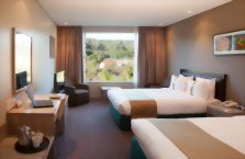 Accommodation: Holiday Inn Rotorua