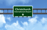 Private transfer to Christchurch Airport