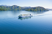 Interislander Ferry Picton to Wellington with exclusive access to the Premium Plus Lounge