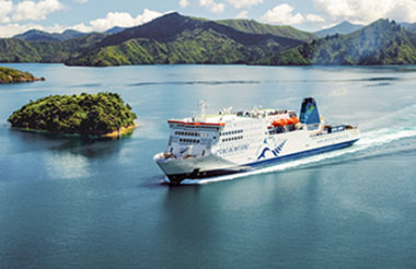 Interislander Ferry Wellington to Picton with exclusive access to the Premium Plus Lounge