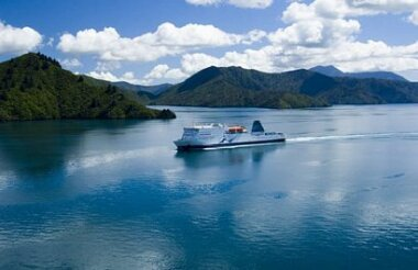 Interislander ferry - Cook Straight