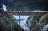 TranzAlpine Scenic Train: Greymouth to Christchurch