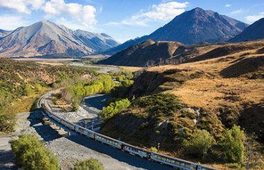Tranz Alpine Scenic Train