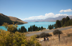 Mountains and Lakes South Island Family Tour