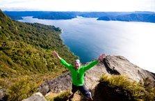 Te Urewera National Park and Lake Waikaremoana