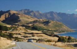 Southern Lakes and TranzAlpine 6 day circuit - day 4