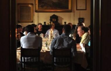 Dinner at Camp Estate, Larnach Castle