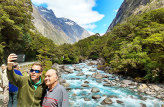 Milford Sound Nature Cruise with return luxury coach transfers from Queenstown