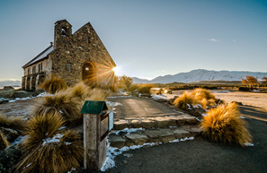 Mount Cook to Christchurch with GreatSights