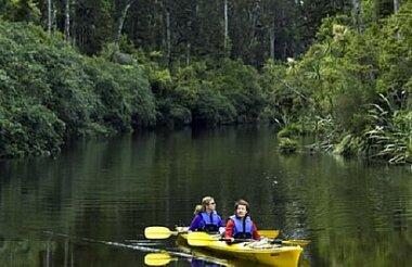 Okarito Lagoon Guided Kayak Trip (2 hours)
