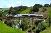 The Northern Explorer Scenic Train: Wellington to Auckland