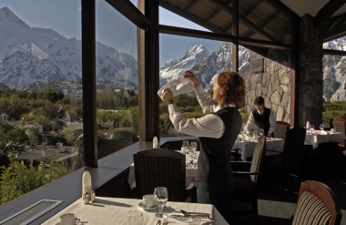 The Panorama Room, Hermitage Hotel, Mt Cook