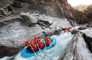 Shotover River White Water Rafting with Go Orange