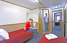 Accommodation: Fiordland Navigator, Doubtful Sound