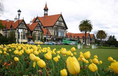 Rotorua Museum and Blue Baths