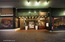 Accommodation: Scenic Hotel Southern Cross