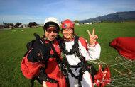Skydive Abel Tasman 16500 ft jump